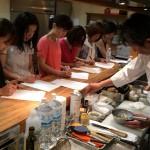 マルコンソール・藤井シェフ料理教室